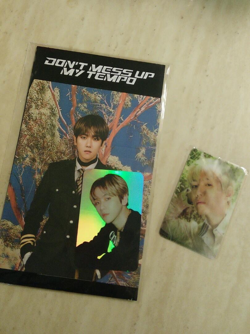 Baekhyun DMUMT hologram photocard set