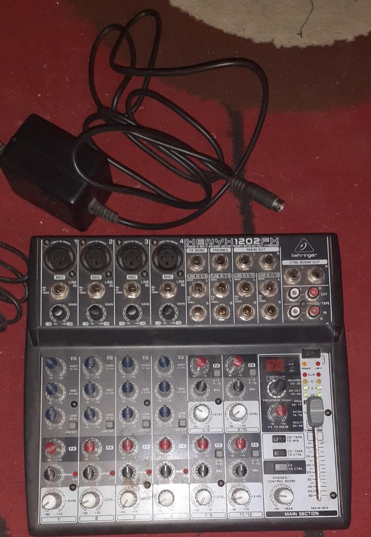 Behringer Xenyx 1202FX (Non USB) Mixer