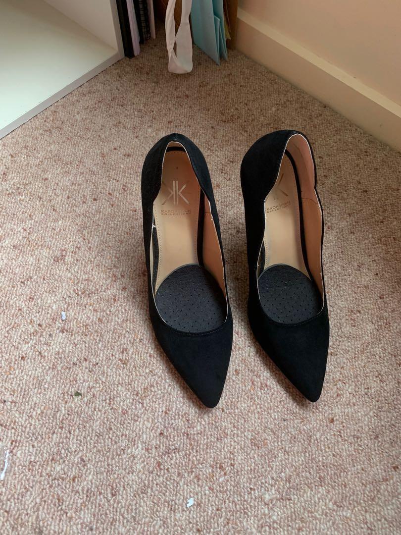Black KK heels