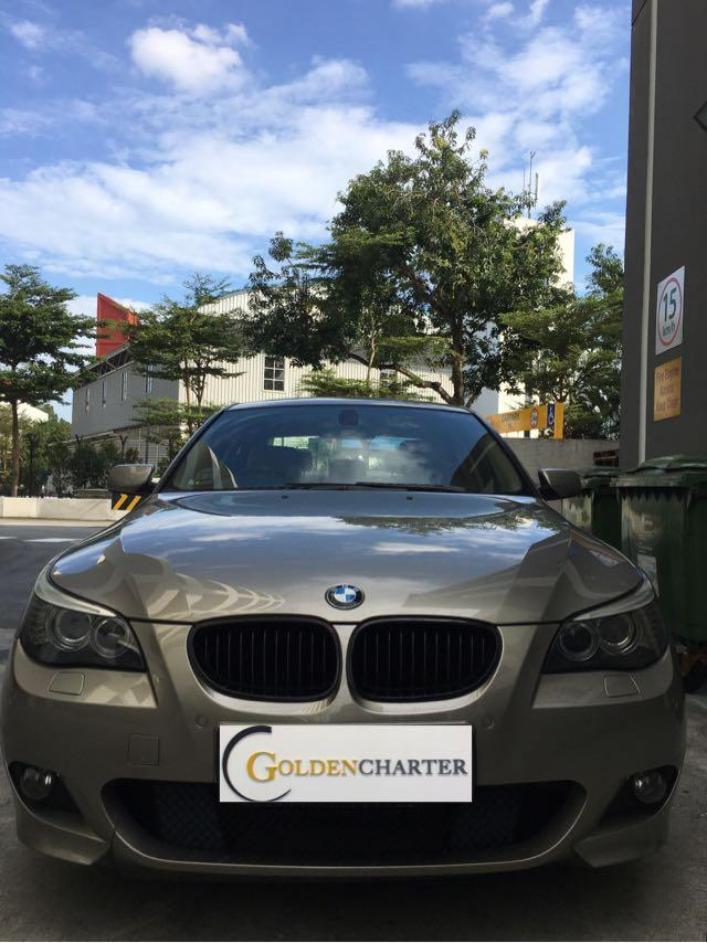 BMW 525i XL For Rent! Gojek rebate, GRAB, TADA, RYDE, PERSONAL, PREMIUM, LUXURY CAR!