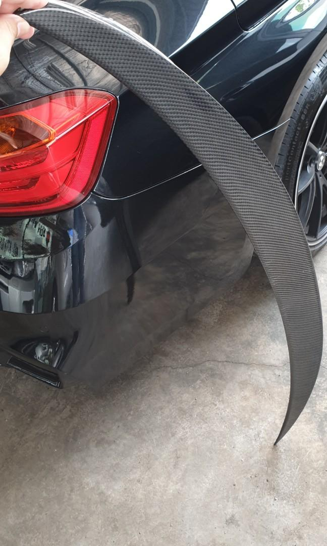 BMW F30 Spoiler. BMW E Series Wing. Spoiler. Rear wing. BMW F30 Wing