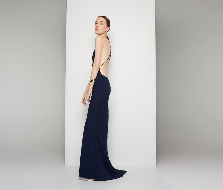 BNWT FAME & PARTNERS NAVY TEMPEST GOWN - 4AU/0 US (RRP $260)