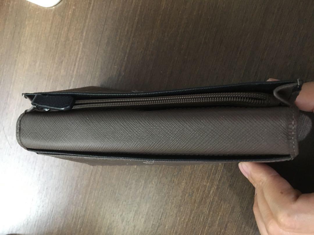 【BRAUN BUFFEL】洛菲諾P系列15卡透明窗零錢長夾 -咖黑 BF334-301-DM