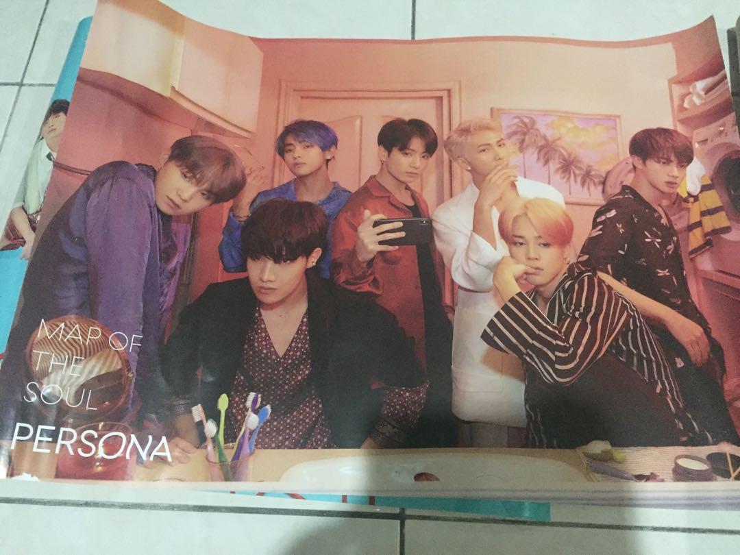 [CLEARANCE] BTS POSTERS (USED) FOR KUCHING ARMYS ONLY 💜