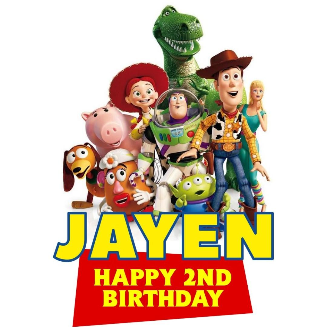 Cake Topper - Toy Story