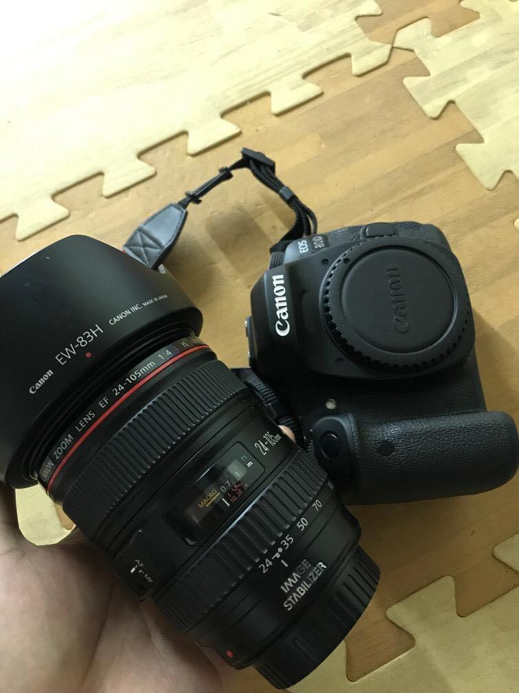 Canon 80D lensa 24-105mm