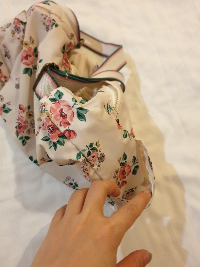 Cath Kidston Foldaway zipped Cross Body Bag
