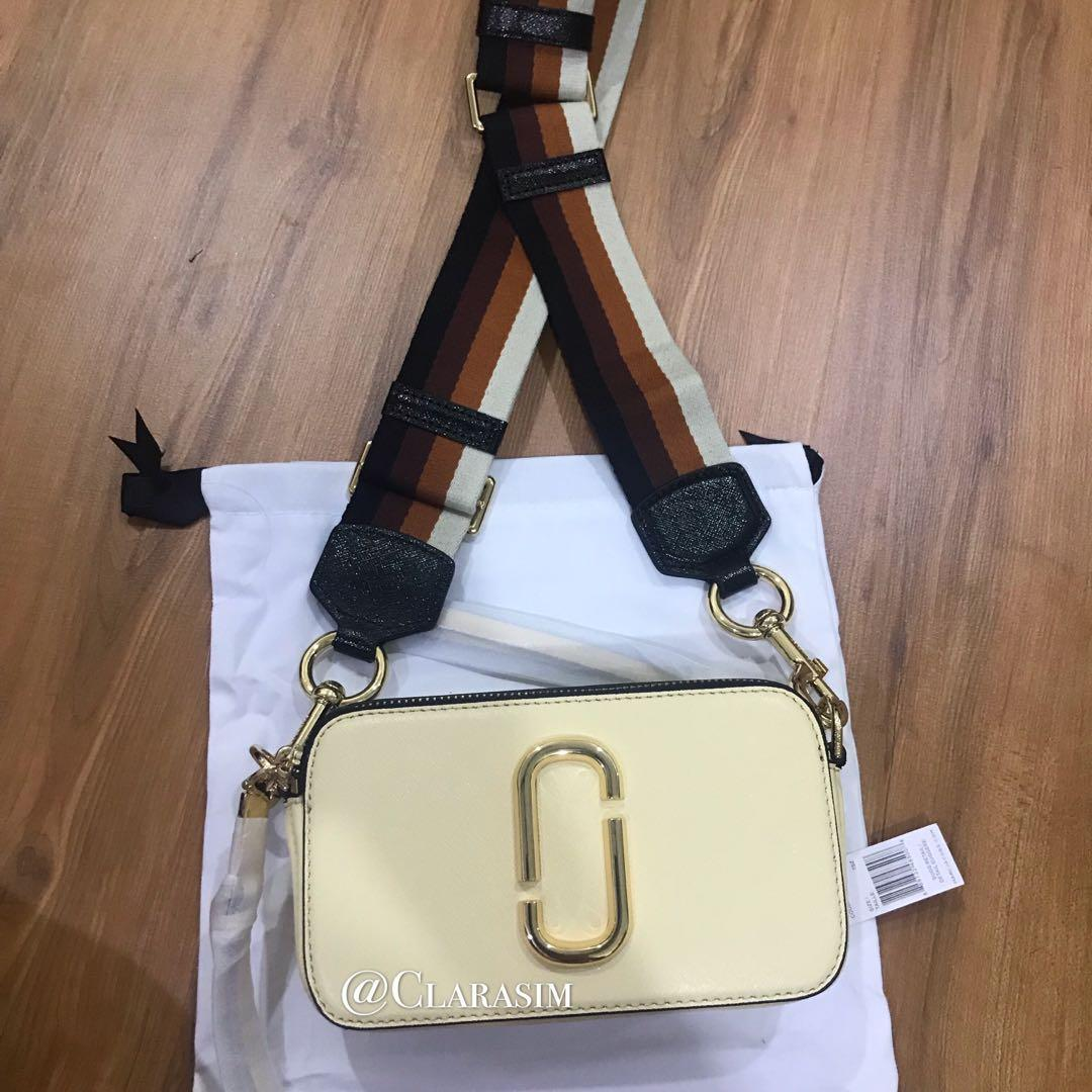[Clearance Sales] Authentic Marc Jacobs Snapshot Series Almond