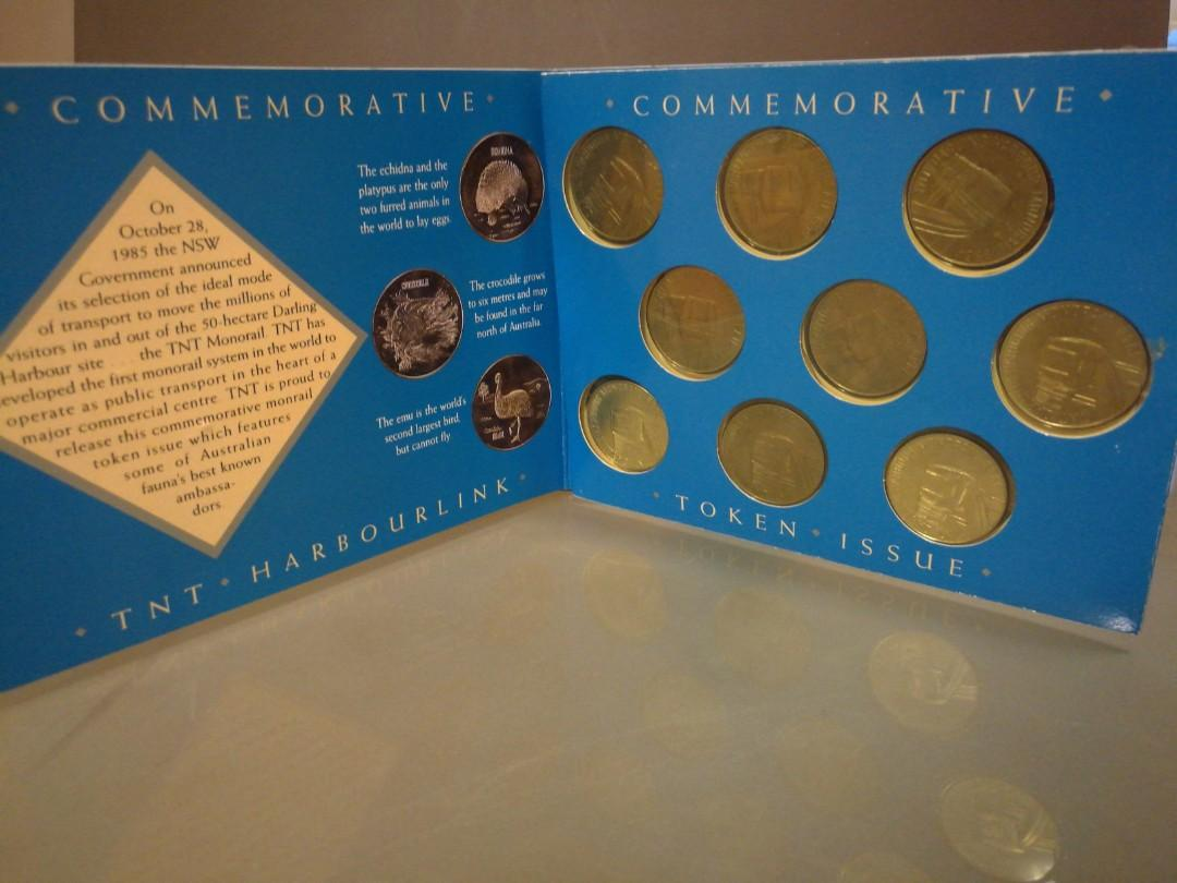 Commemorative TNT monorail token issue