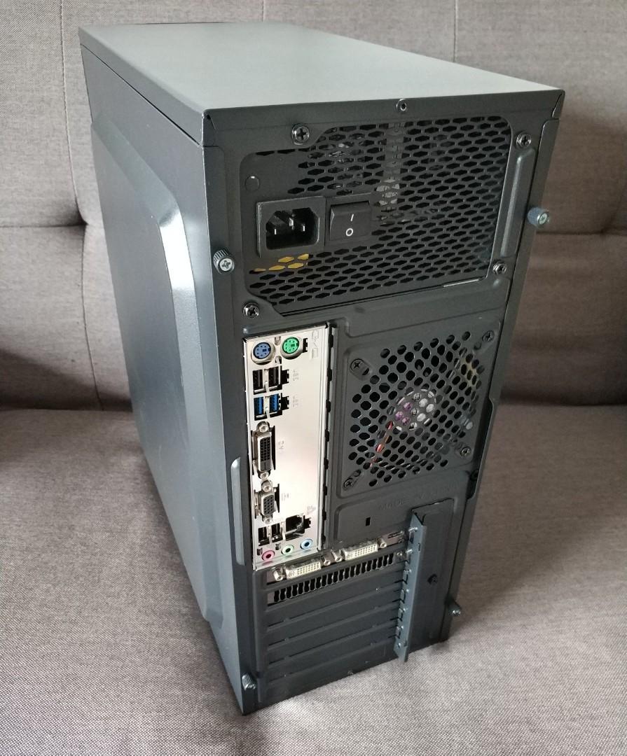 #高CP值Win10電腦# intel i5 遊戲主機 1150 桌上型電腦 PC 桌機
