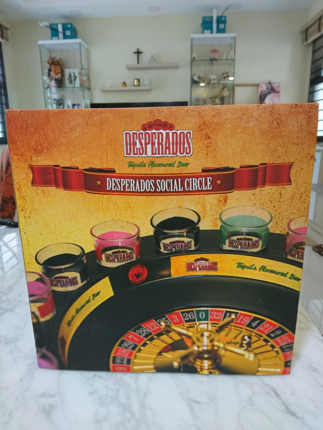 Drinking Game Roulette Desperados Bnib Toys Games Board Games Cards On Carousell