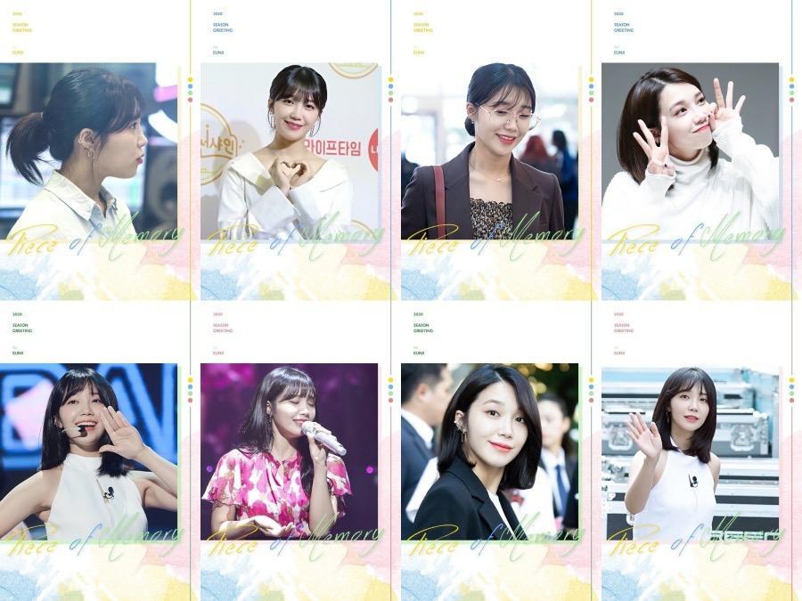 EUNJI - 2020 Season's Greeting 'Pieces of memory' [29/10]