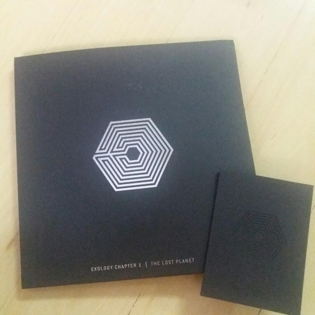 EXO EXOLOGY CHAPTER 1 THE LOST PLANET LIVE ALBUM/PHOTOBOOK
