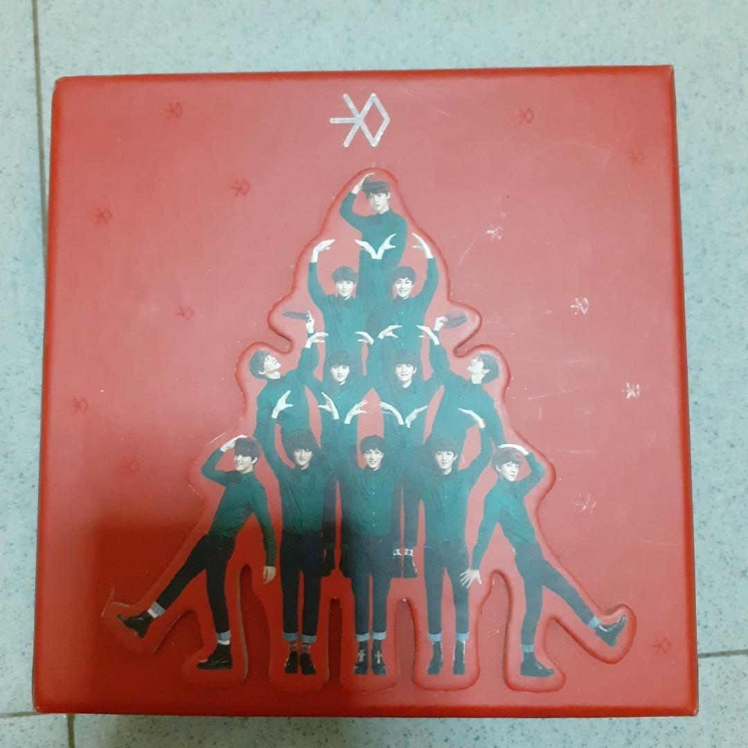 EXO MIRACLES IN DECEMBER CHINESE VER ALBUM