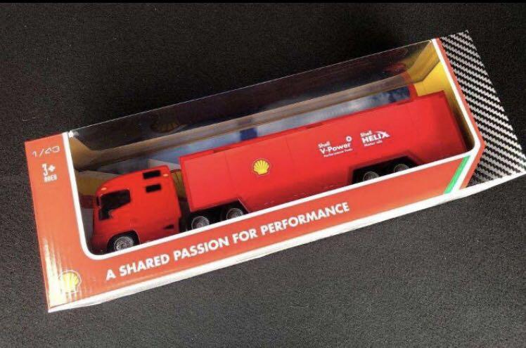 Ferrari Shell Truck