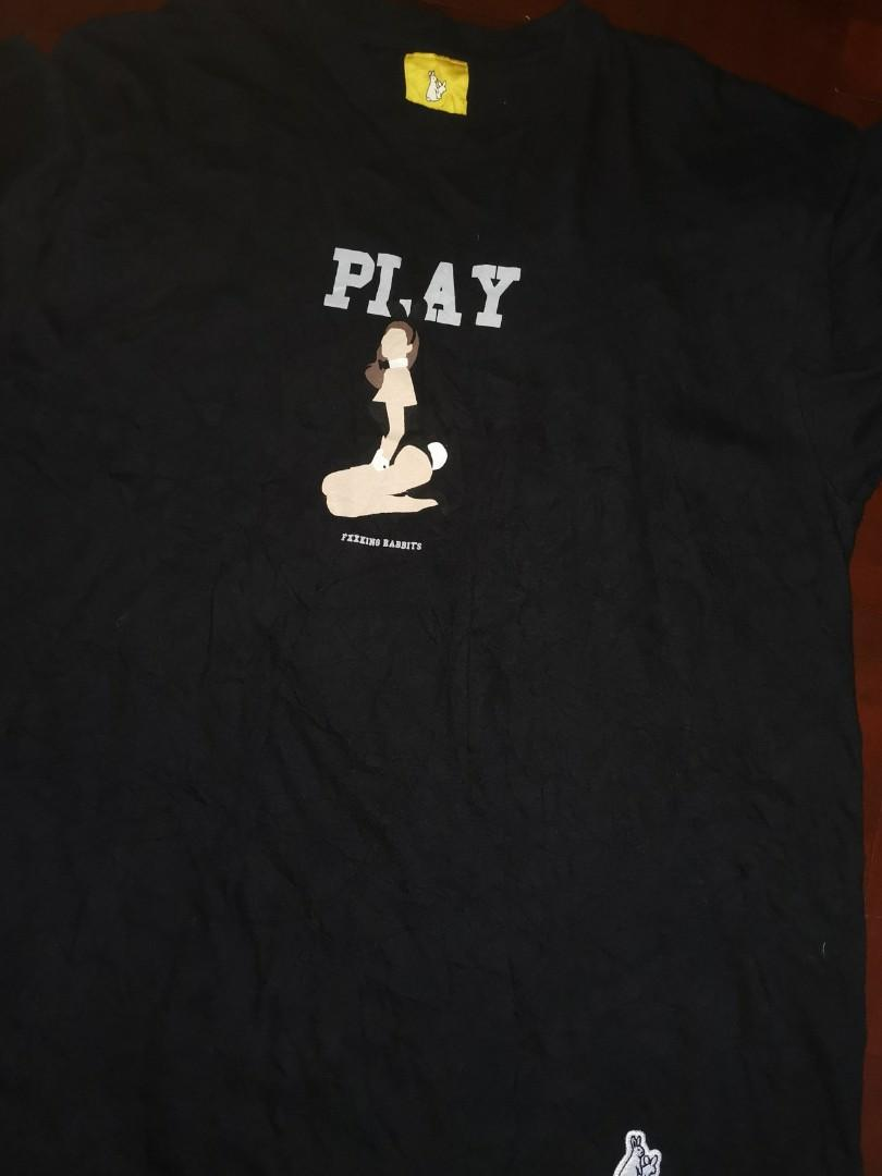 FR2 Bunny girl / playboy Printing Tee