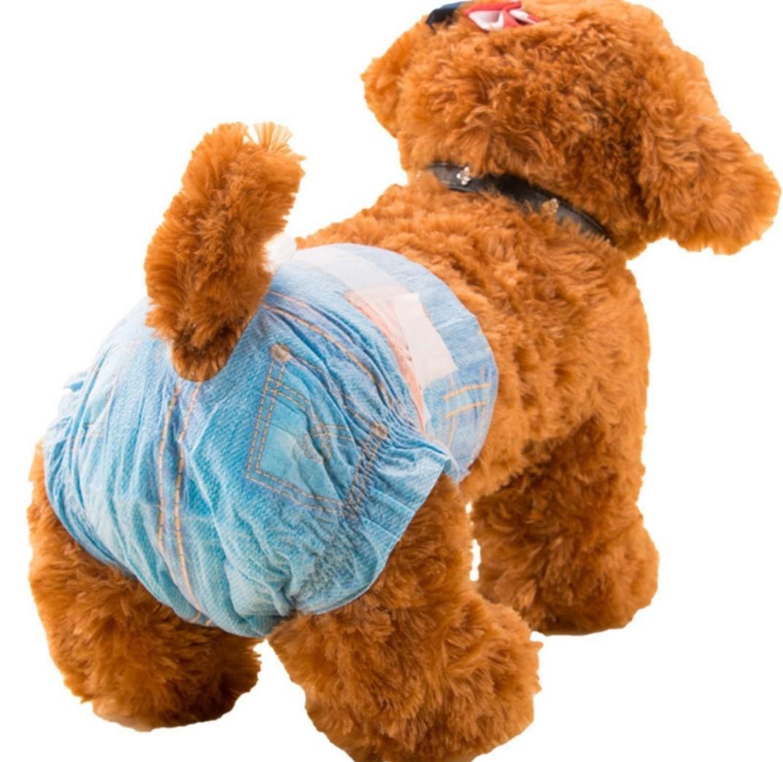FurKid Denim Design Dogs Diapers Bundle Special