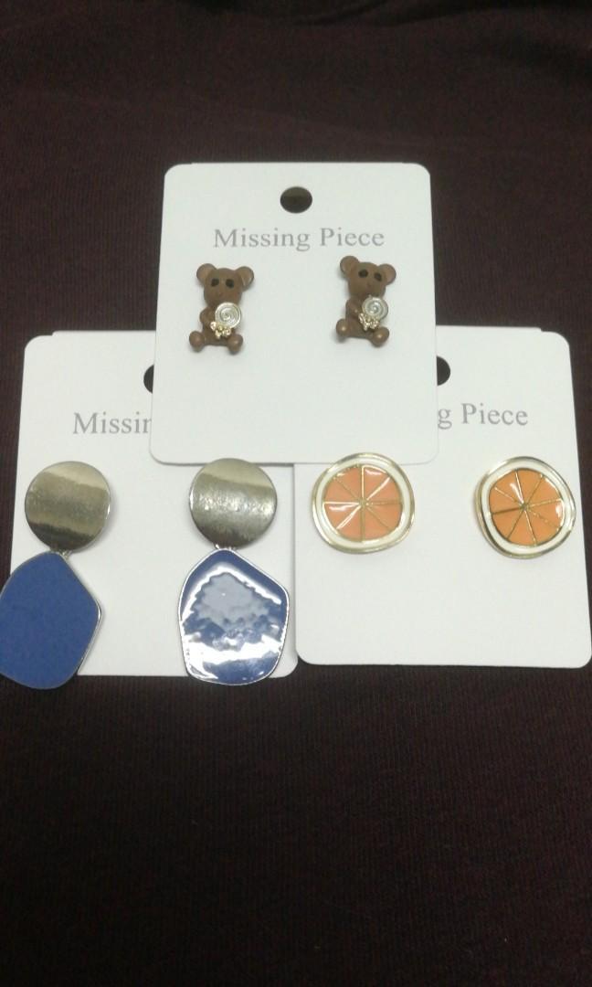 G series earrings #3
