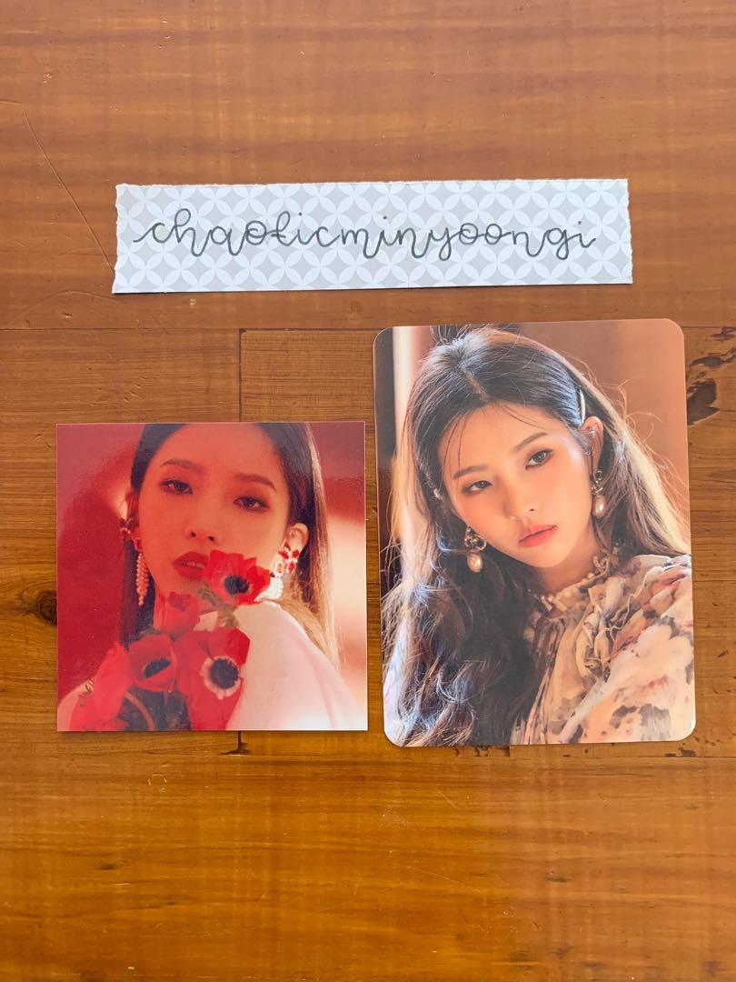 (G)-Idle I Made Official Album with Soyeon Photocard Set