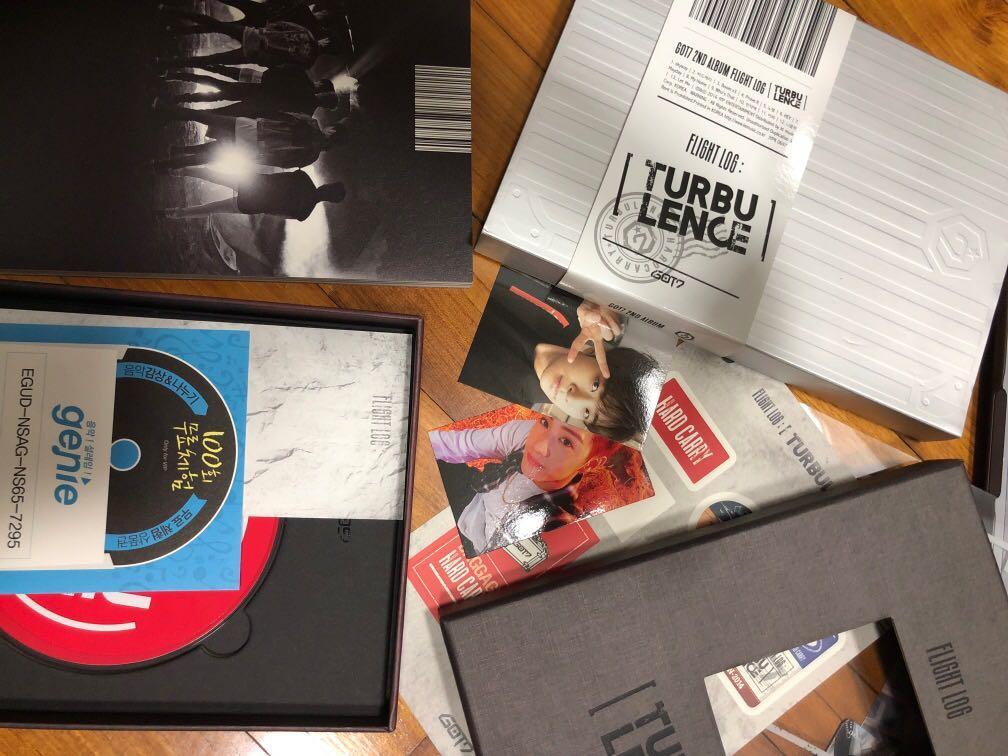 GOT7 TURBULENCE album