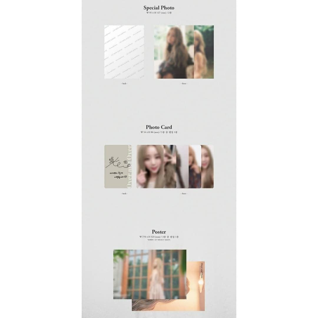 🔔🔔🔔GROUP BATCH🔔🔔 KIM JIYEON (KEI) – 1ST MINI ALBUM OVER AND OVER AGAIN 😍😍 🗓RELEASE DATE: October 9th
