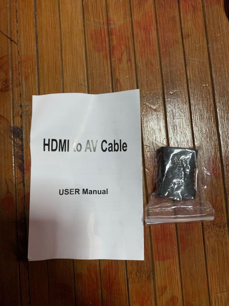 HDMI to AV cable