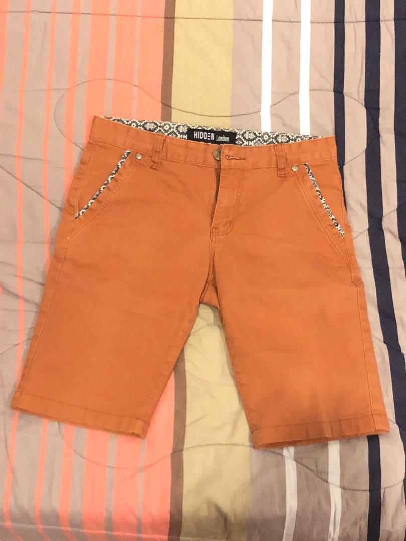 Hidden short pants