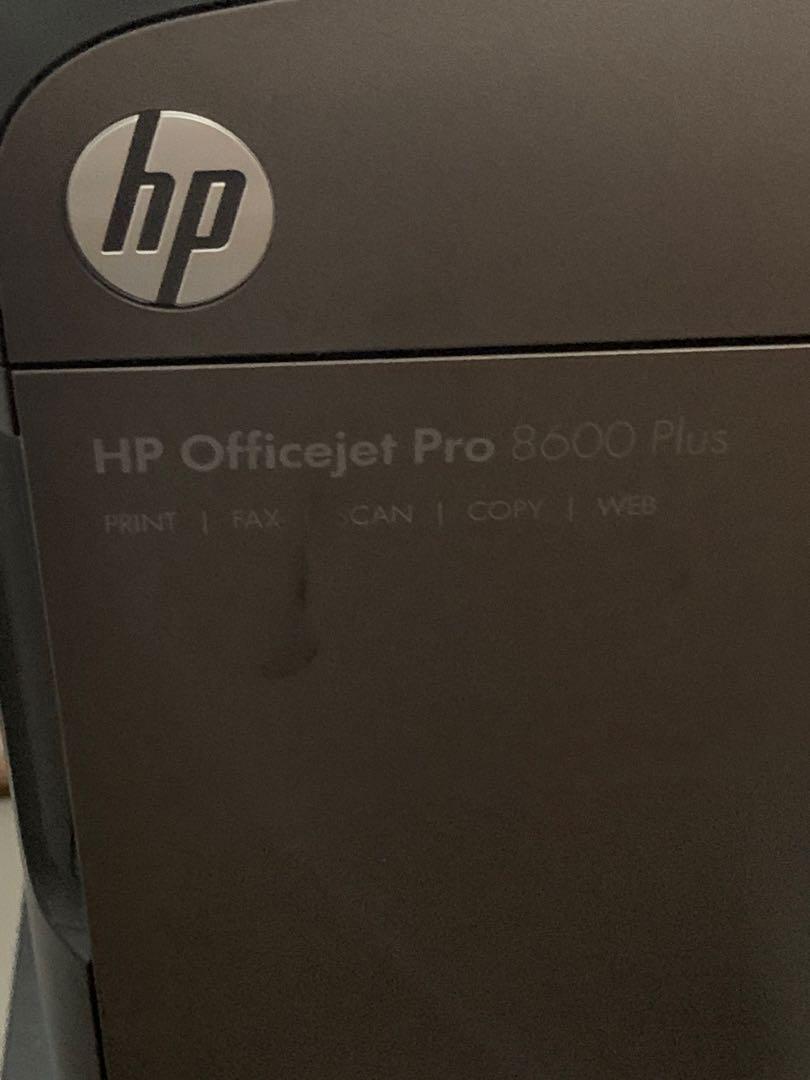 HP OFFICE JET PRO 8600 PLUS whole set of ink cartridges