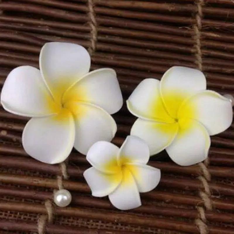 Jepit Rambut Model Bunga Plumeria