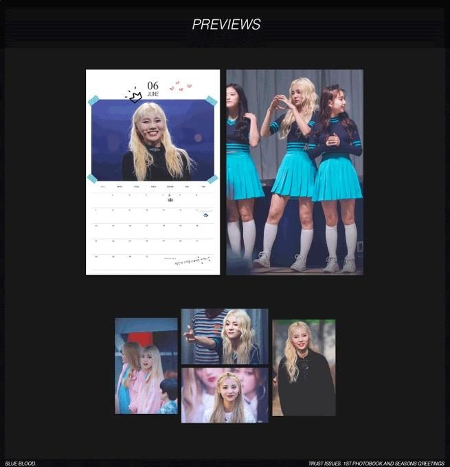 JINSOUL - Trust Issues 1st photobook and seasons greetings [11/11]