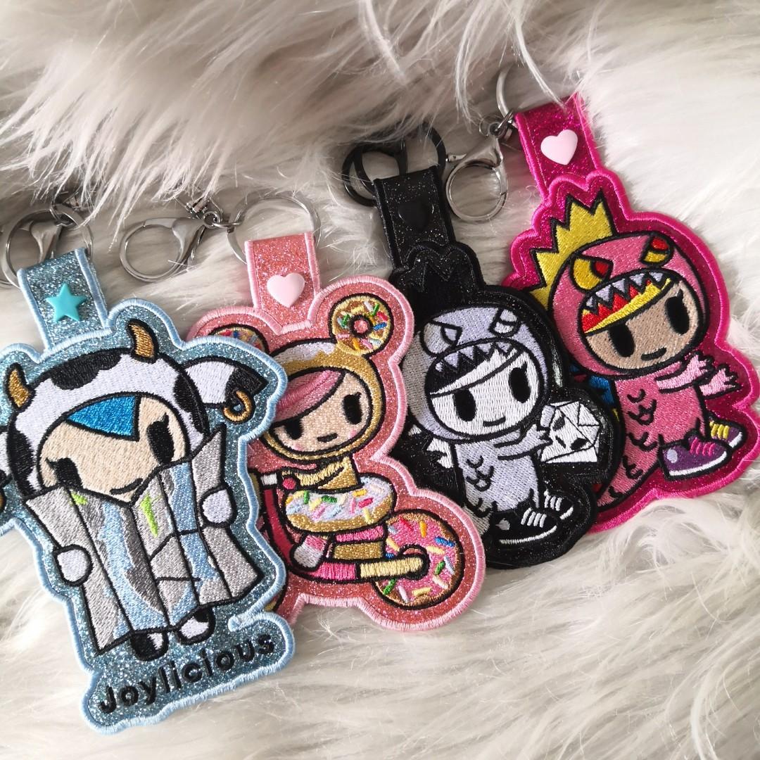 Jujube Queens Court bag tag keychain customize tokidoki