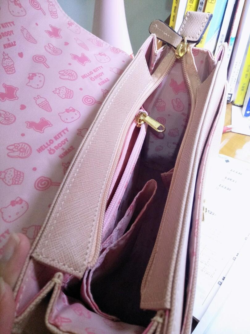 Kinaz 凱蒂貓聯名款 乾燥玫瑰色😚包包