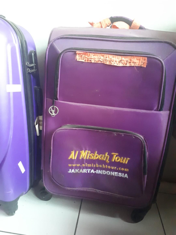 """Koper bekas umroh  24inch koper 24"""" tas besar tas roda"""