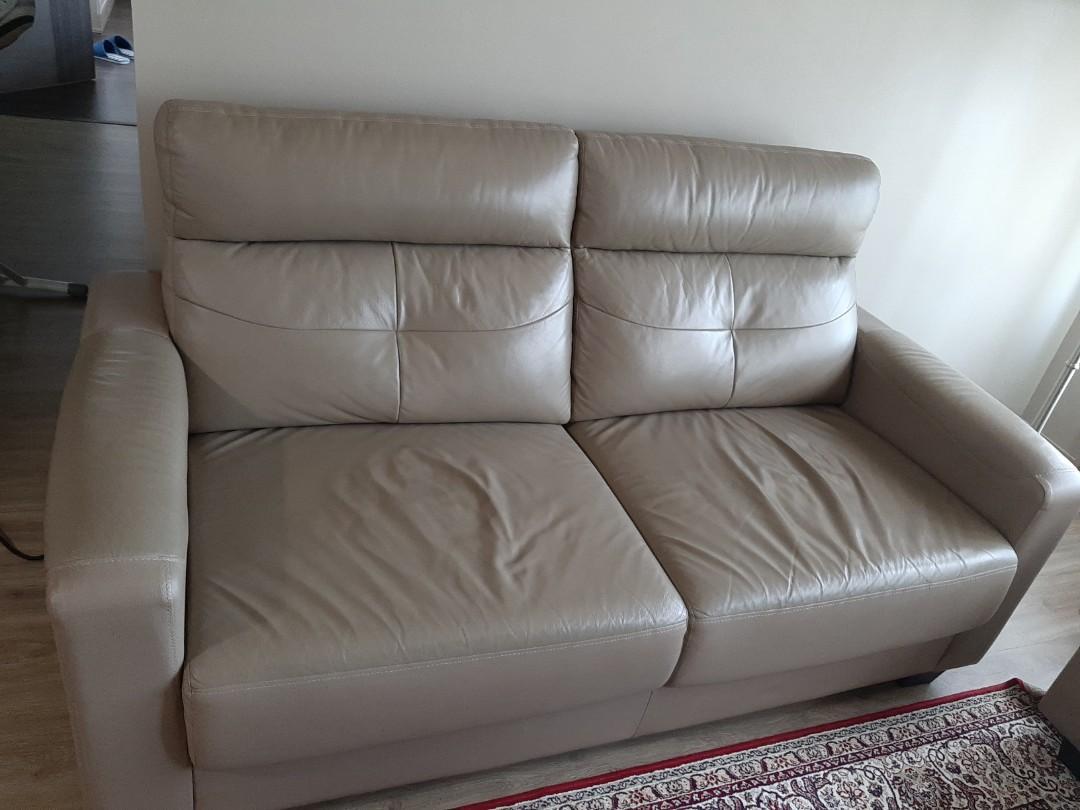 Leather Sofa Furniture Sofas On Carou