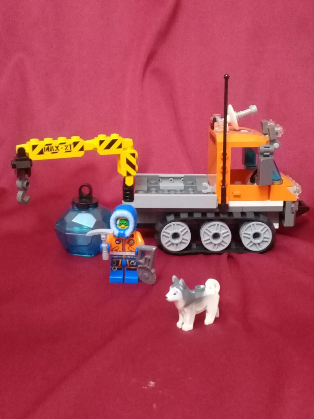 Lego Artic Ice Crawler + Husky Dog