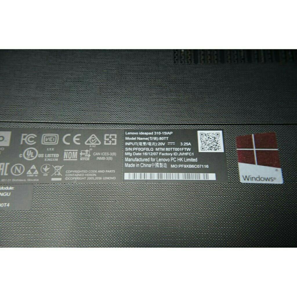 Lenovo idea 310