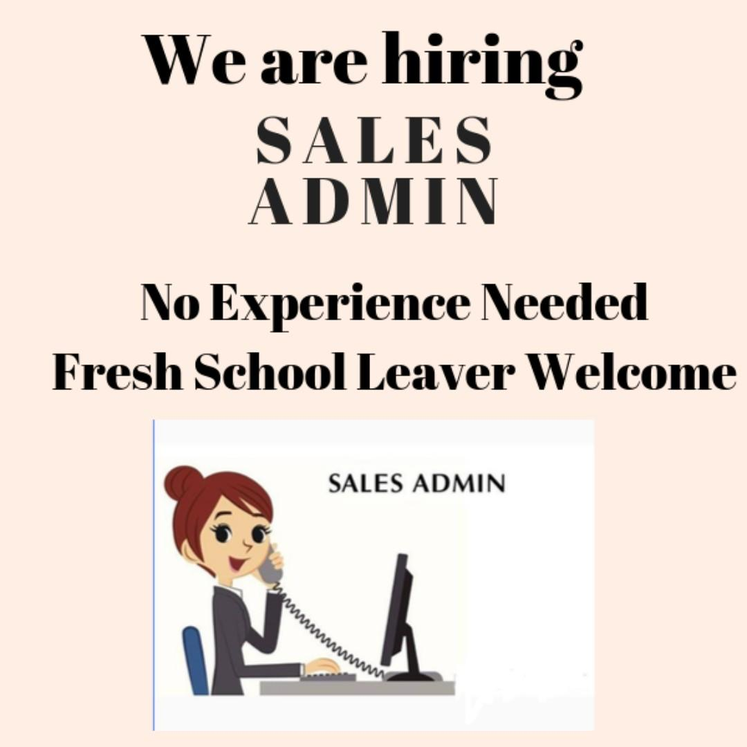 Looking for a Sales Admin