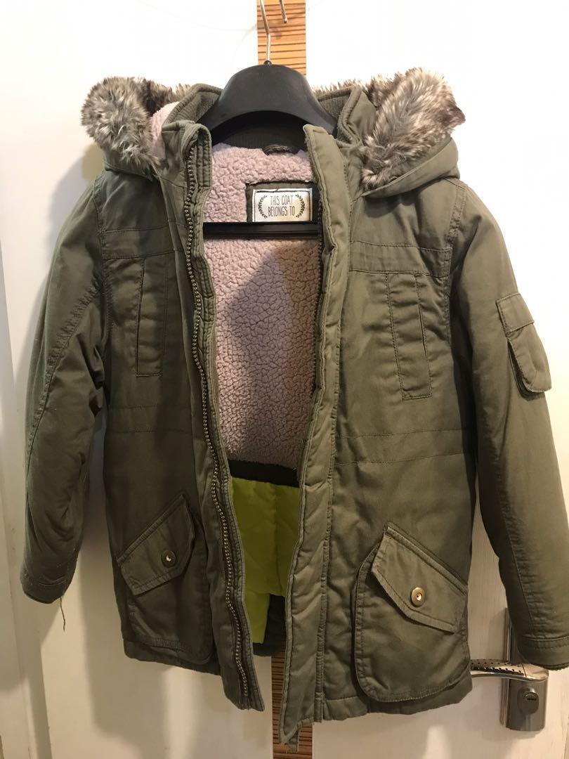 M&S 馬莎 Kids Winter Ski Jacket for 5-7 like new