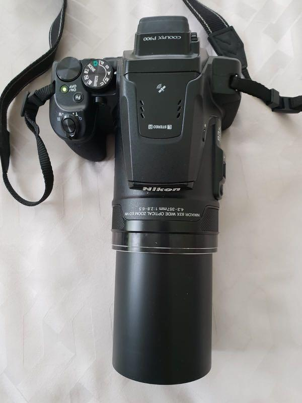 Nikon P900 with freebies