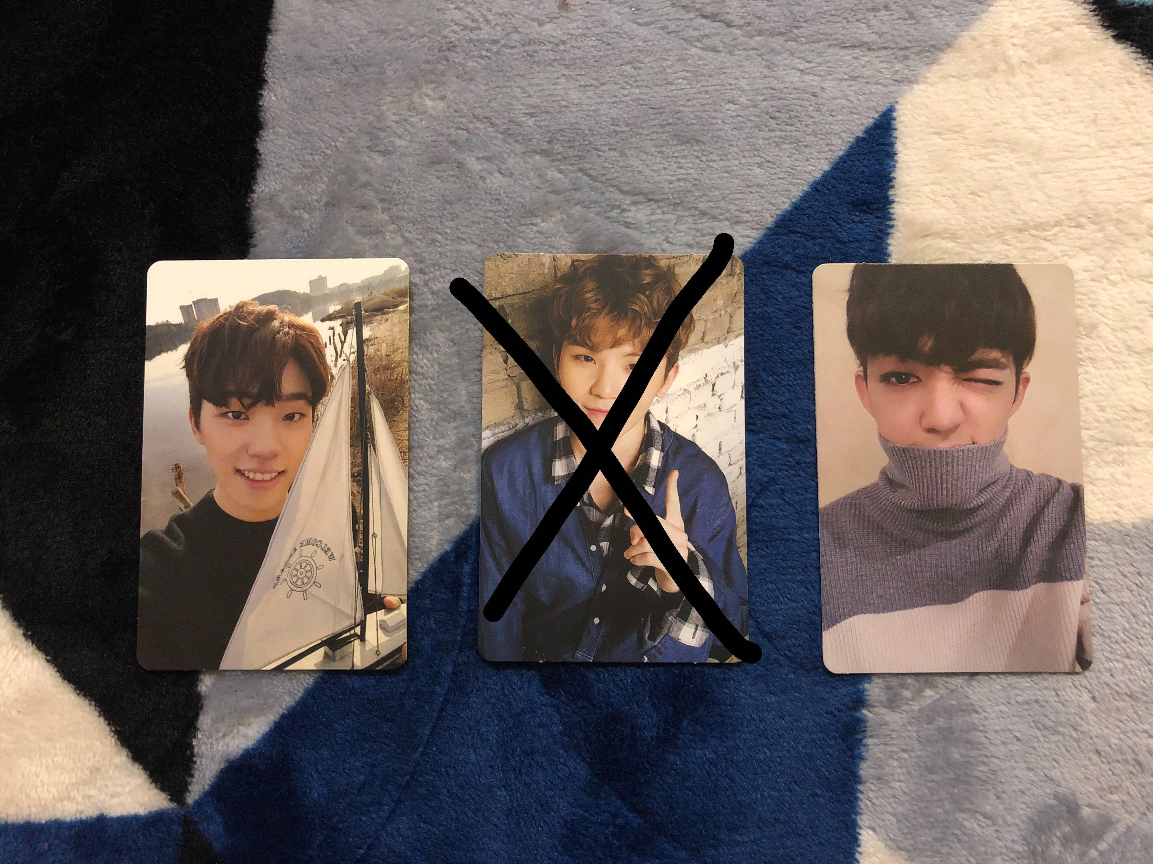 (OFFICIAL) Seventeen - Going Seventeen Individual Photocard