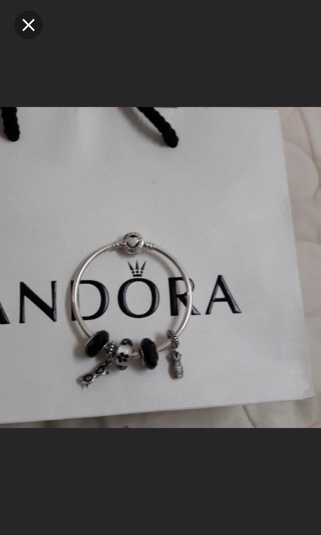 Pandora Murano black/ white / sunglases /dress