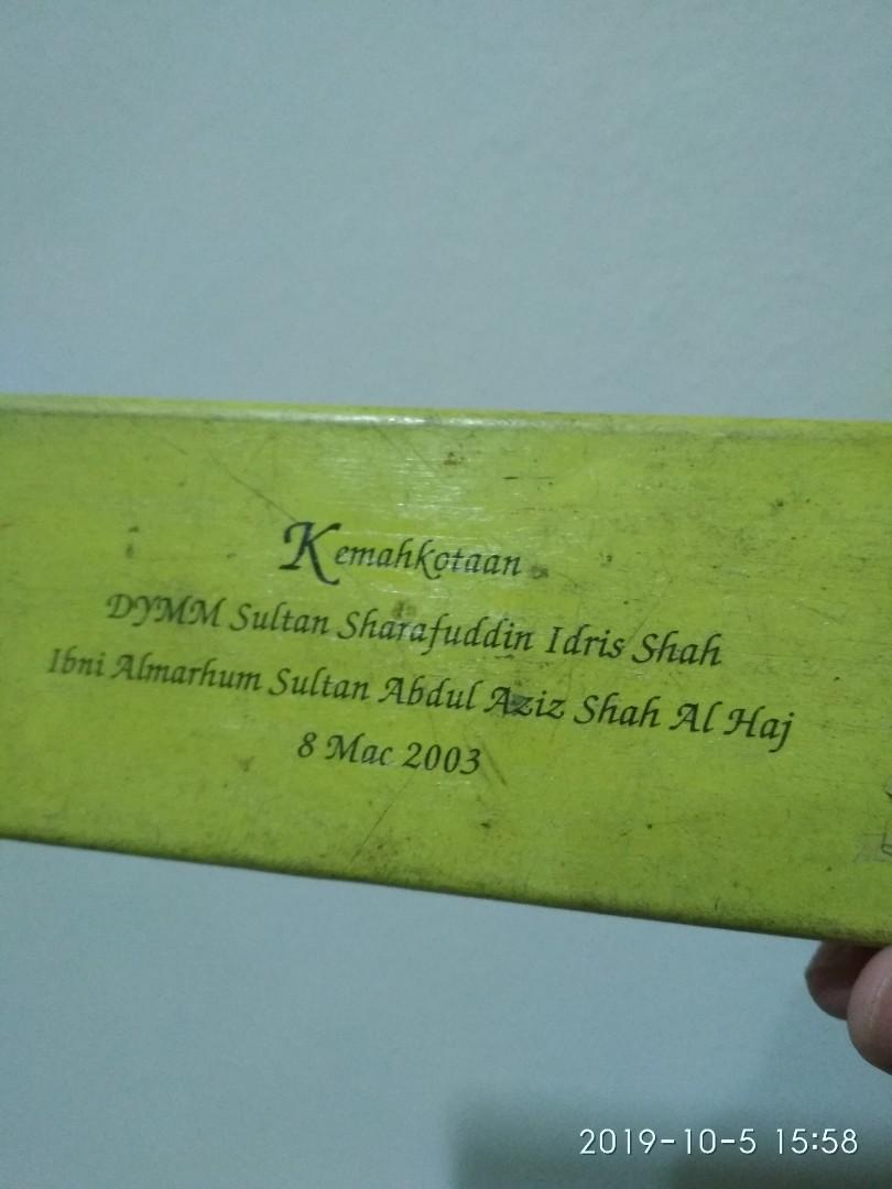 Pencil case sultan Selangor