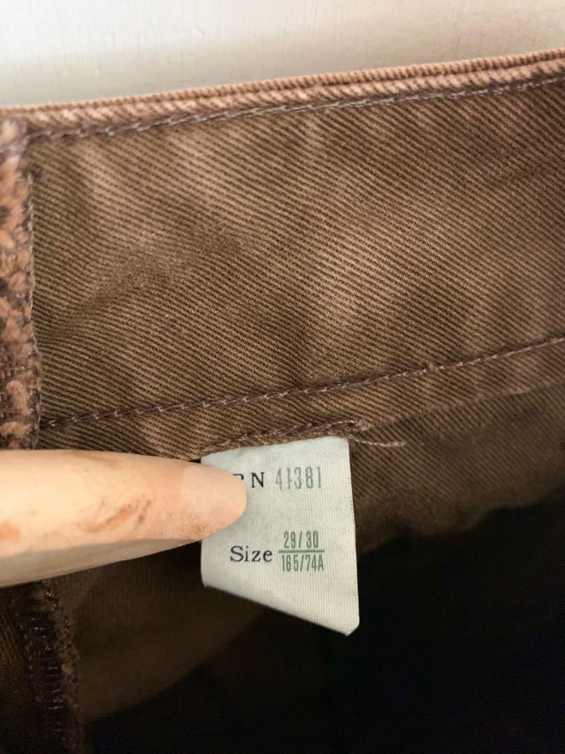 Polo Double RL RRL 頹廢 工作褲 工裝 重磅 卡其褲 牛仔  騎士 古著  寬褲 色落 刷色