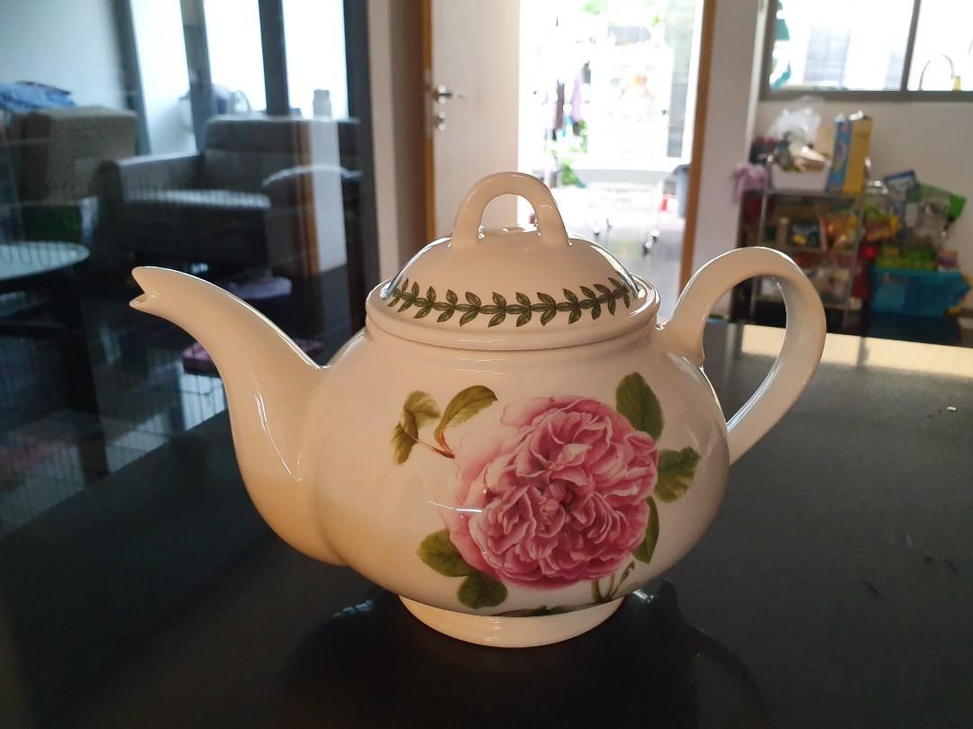 Portmeiron Botanic Garden Teapot & 4 Mugs