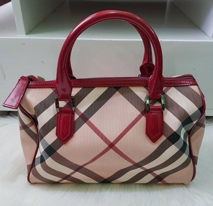 Preloved Burberry Handbag Speedy Authentic #visitsingapore #prelovedwithlove