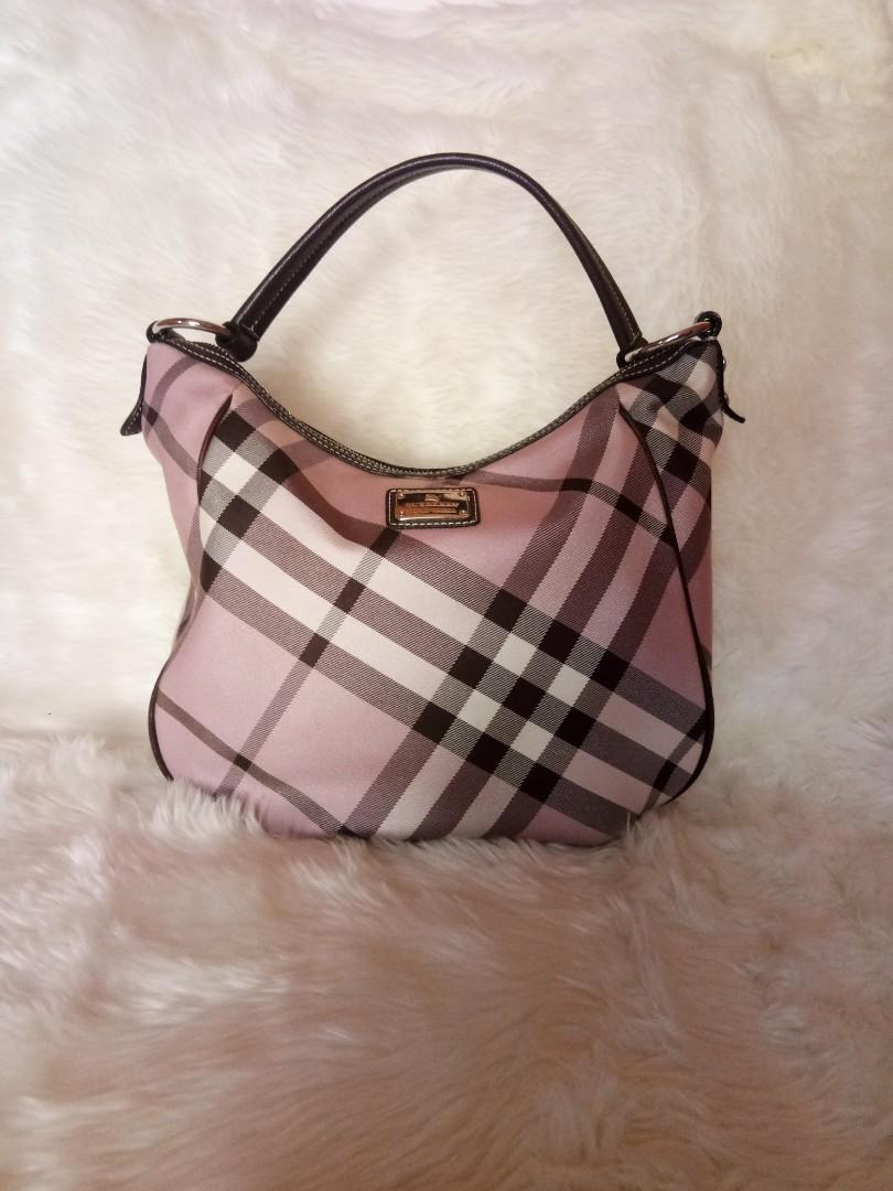 Preloved Burberry Hobo Bag Authentic #visitsingapore #prelovedwithlove
