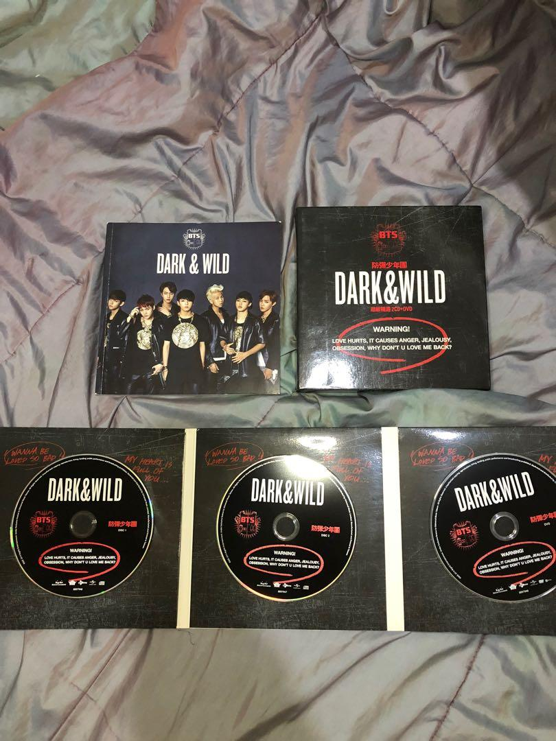 [preloved] DARK&WILD BTS ALBUM SPECIAL EDITION 2CD+DVD