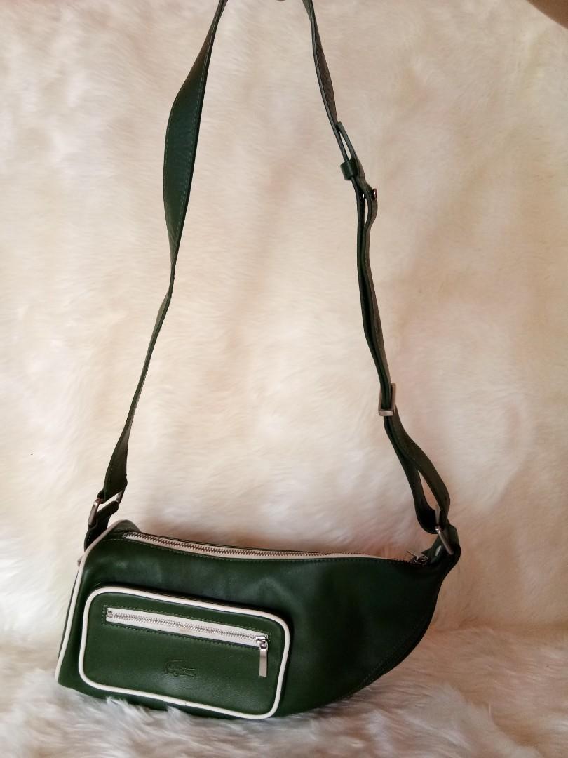 Preloved Lacoste Sling Bag Authentic #visitsingapore #prelovedwithlove