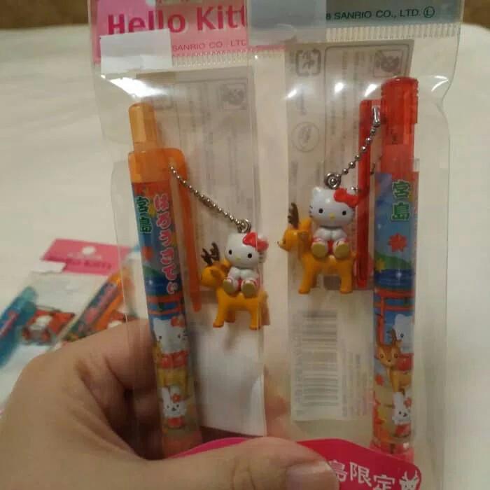 Pulpen Sanrio Hello kitty Handcarry jepang