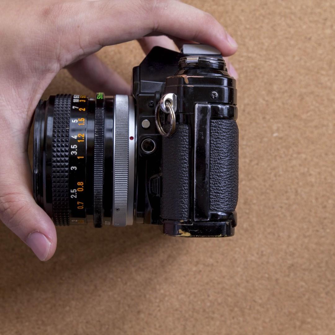 RARE Black Canon AE-1 [FILM TESTED]